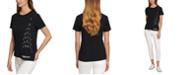DKNY Sequined Logo T-Shirt