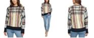 DKNY Printed Crewneck Sweater