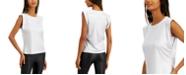 INC International Concepts INC Boxy Shine T-Shirt, Created for Macy's