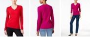 Charter Club Cashmere V-Neck Sweater, Created for Macy's