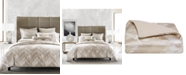 Hotel Collection Distressed Chevron Duvet Covers, Created for Macy's