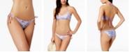 Dolce Vita Shell-Print Side-Tie Bikini Bottoms