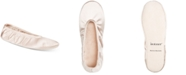Isotoner Signature Isotoner Heritage Women's Stretch Satin Ballerina Slippers with Moisture Wicking, Online Only