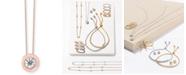 "EFFY Collection Bubbles by EFFY® Diamond Bezel Frame 18"" Pendant Necklace (1/5 ct. t.w.)"