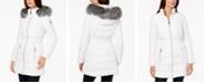 Laundry by Shelli Segal Faux-Fur-Trim Puffer Coat