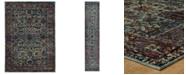 "JHB Design Macy's Fine Rug Gallery Journey Pena Blue 10' x 13' 2"" Area Rug"