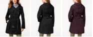 Michael Kors Belted Asymmetrical Trench Coat