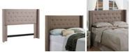 Dwell Home Inc. Noe Wing Headboard, Full/Queen, Dolphin