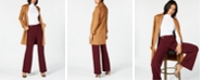 INC International Concepts I.N.C. Faux-Suede Coat, Turtleneck Sweater & Wide-Leg Pants, Created for Macy's