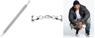 LEGACY for MEN by Simone I. Smith Mesh Link Bracelet in Stainless Steel