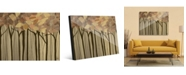 """Creative Gallery Neutral Painted Leaves Abstract Forest 20"""" X 24"""" Acrylic Wall Art Print"""