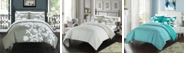 Chic Home Calla Lily 3 Pc Queen Duvet Cover Set