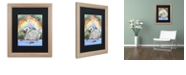"Trademark Global Jennifer Nilsson The Swan Princess Matted Framed Art - 11"" x 14"" x 0.5"""
