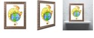 """Trademark Global Jennifer Nilsson Dreaming of Peace - Dragon Ornate Framed Art - 16"""" x 20"""" x 0.5"""""""