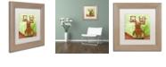 """Trademark Global Craig Snodgrass 'Explosion' Matted Framed Art, 11"""" x 11"""""""