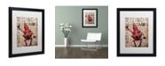 """Trademark Global Craig Snodgrass 'Keep Calm And Drop Bombs' Matted Framed Art, 16"""" x 20"""""""