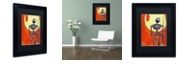 """Trademark Global Craig Snodgrass 'Iron Bot' Matted Framed Art, 11"""" x 14"""""""