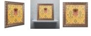 "Trademark Global Rachel Paxton 'Allandale Mourning Cloak' Ornate Framed Art, 11"" x 11"""