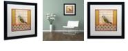 """Trademark Global Rachel Paxton 'Small Bird 212' Matted Framed Art, 16"""" x 16"""""""