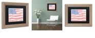 """Trademark Global Viz Art Ink 'America's Pastime' Matted Framed Art, 11"""" x 14"""""""