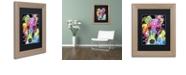 "Trademark Global Dean Russo 'Whippet' Matted Framed Art, 11"" x 14"""