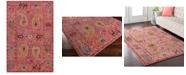 "Surya CLOSEOUT!  Anika ANI-1011 Bright Pink 5'3"" x 7'3"" Area Rug"