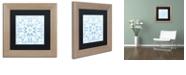 "Trademark Global Color Bakery 'Prima Donna Iii' Matted Framed Art, 11"" x 11"""