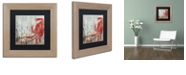 "Trademark Global Color Bakery 'Restaurant Seafood Ii' Matted Framed Art, 11"" x 11"""