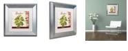 "Trademark Global Color Bakery 'Cucina Italiana Vi' Matted Framed Art, 11"" x 11"""
