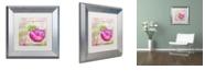 """Trademark Global Color Bakery 'Cocktail Quartet I' Matted Framed Art, 11"""" x 11"""""""