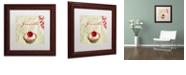 "Trademark Global Color Bakery 'Tartes Francais, Currant' Matted Framed Art, 11"" x 11"""