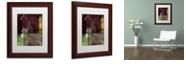 "Trademark Global Color Bakery 'On The Hunt Iv' Matted Framed Art, 11"" x 14"""