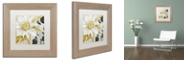 """Trademark Global Color Bakery 'Sunroom I' Matted Framed Art, 11"""" x 11"""""""