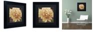 "Trademark Global Color Bakery 'Jaune' Matted Framed Art, 11"" x 11"""