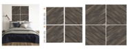 Brewster Home Fashions Parquet Wood Decal Kit