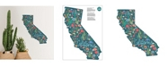 Brewster Home Fashions California Wall Art Kit