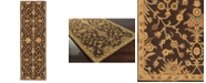Surya CLOSEOUT!  Caesar CAE-1151 Dark Brown 3' x 12' Runner Area Rug