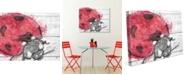 "Creative Gallery Ladybug Splash Watercolor 16"" X 20"" Canvas Wall Art Print"