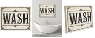 """Creative Gallery Rustic Wash On Paper Pattern 24"""" X 36"""" Canvas Wall Art Print"""