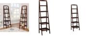 Furniture of America Jameson Angled Ladder-Like 5-Tiered Shelf
