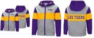 Colosseum LSU Tigers Colorblocked Full-Zip Sweatshirt, Toddler Boys (2T-4T)