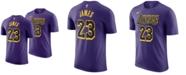 Nike Men's LeBron James Los Angeles Lakers City Player T-Shirt 2018