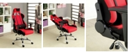 Furniture of America Pasha Adjustable Reclining Office Chair