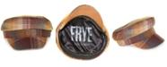 Frye Plaid Newsboy Cap