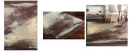 "Surya Felicity FCT-8005 Dark Brown 5' x 7'6"" Area Rug"