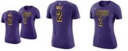 Nike Women's Lonzo Ball Los Angeles Lakers City Edition Player T-Shirt