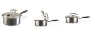 CookCraft 3 Quart Tri-Ply Sauce Pan w/Lid