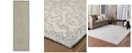"Oriental Weavers Manor 81206 Stone/Gray 2'6"" x 8' Runner Area Rug"