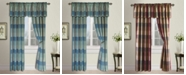 "United Curtain Co Inc Plaid 54"" X 63"" Window Panel"