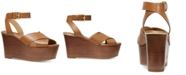 Michael Kors Abbott Platform Wedge Sandals